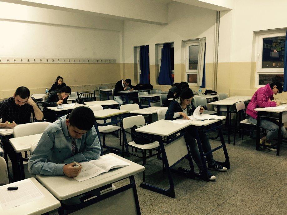 Sporium Academy Öğrencileri Geleneksel Mart Ayı Son Ygs Deneme Sınavına Girdiler.