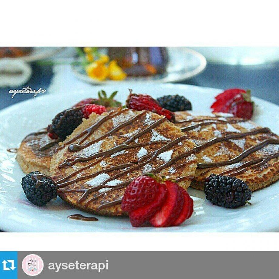 Kestane Unlu Pancake