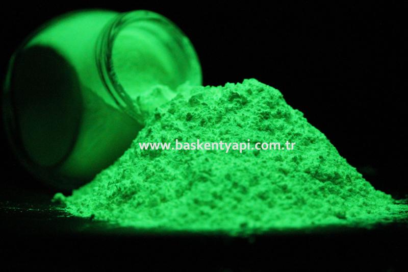 Fosforesan ve Floresan Pigment