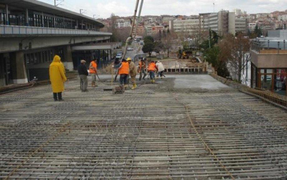 İstanbul - Söğütlüçeşme - Metrobüs Alanı Beton Altı Elektrikli Yerden Isıtma