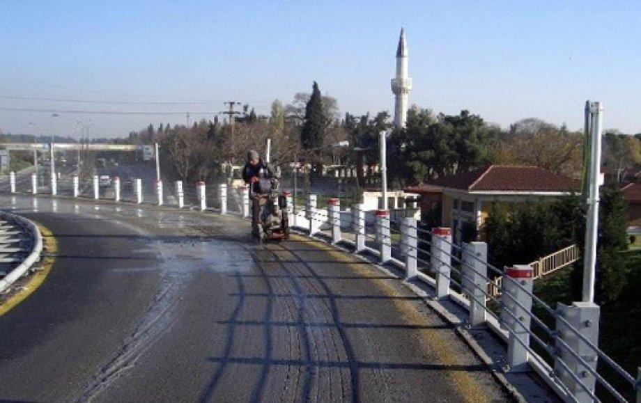 İstanbul - Metrobüs - Asfalt Altına Elektrikli Yerden Isıtma