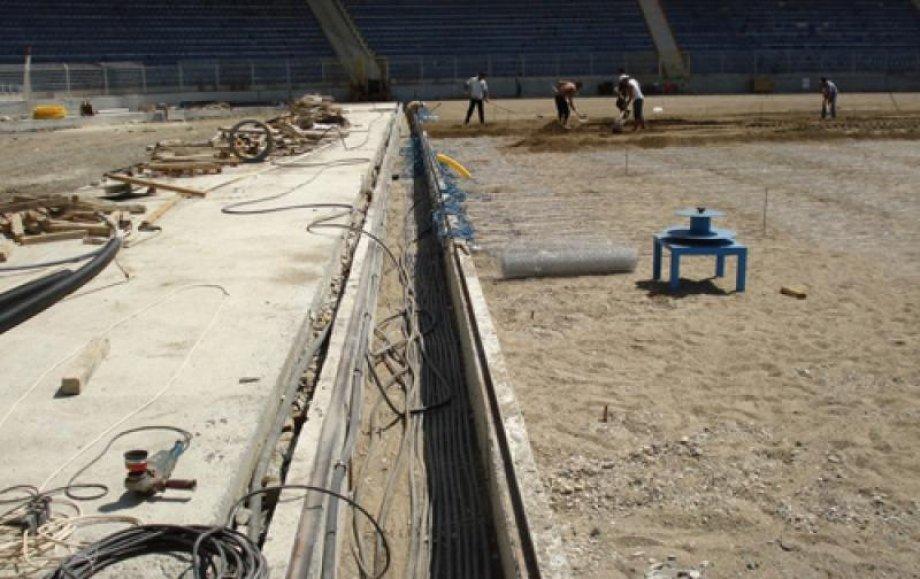 Kasımpaşa Recep Tayyip Erdoğan Stadyumu Elektrikli Yerden Isıtma