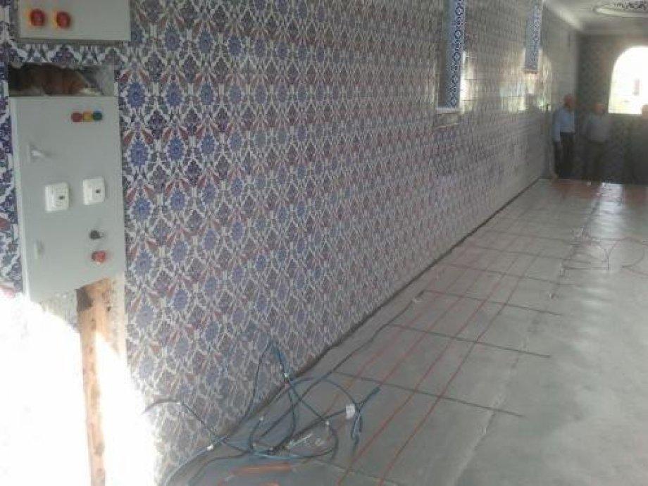 Siirt Kaya Bağlar Merkez Camii Electrical Heating
