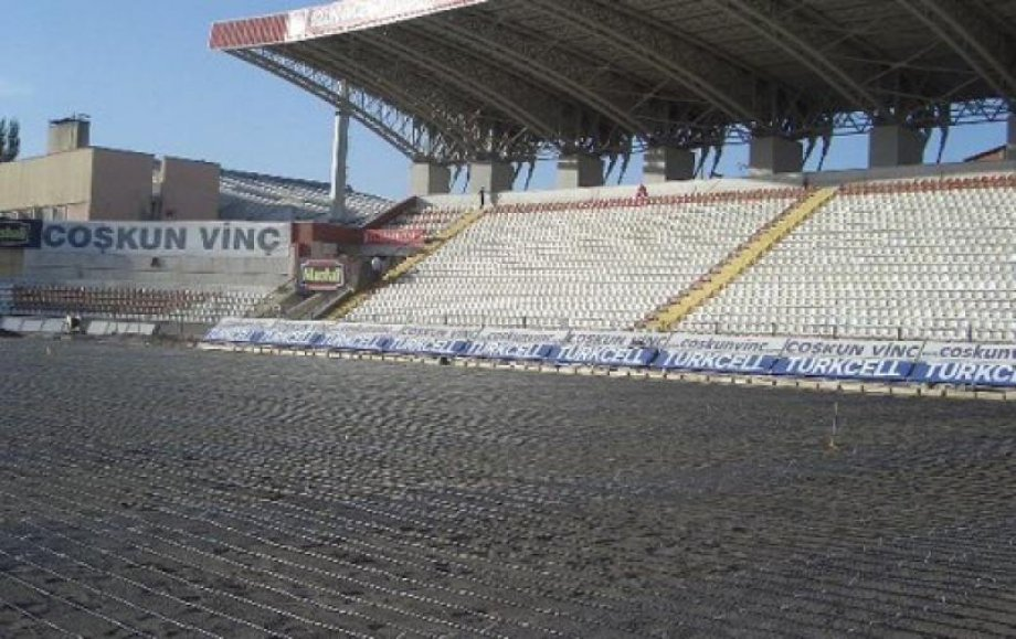 Old Sivasspor 4 Eylül Stadium Electrical Underfloor Heating System
