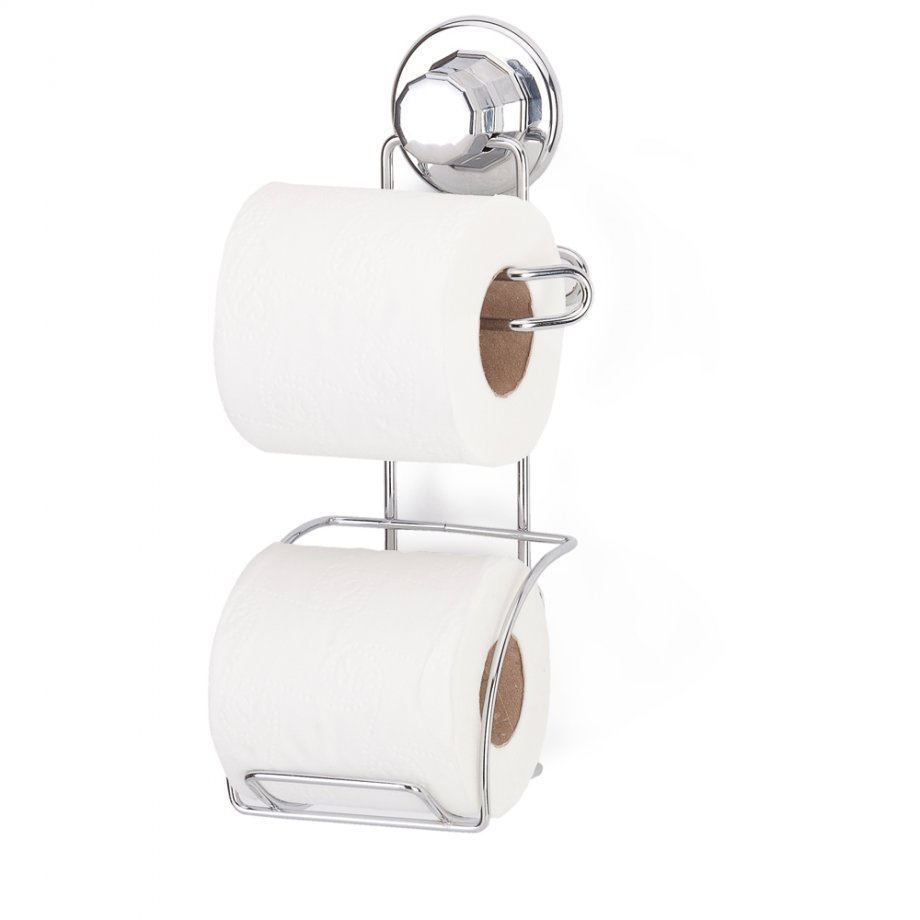DM282 Suction Toilet Paper Holder with Rezerv