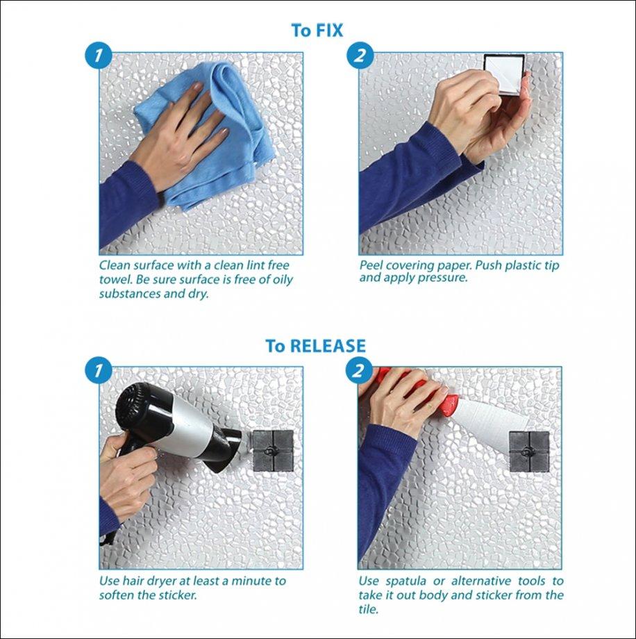 EF240 Self Adhesive Paper Towel Holder