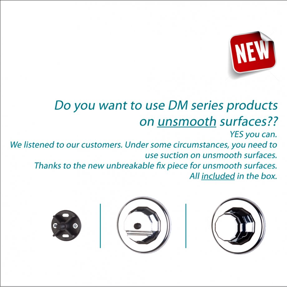 DM058 Suction Items (Multipurpose Plastic Shelf) / Chrome
