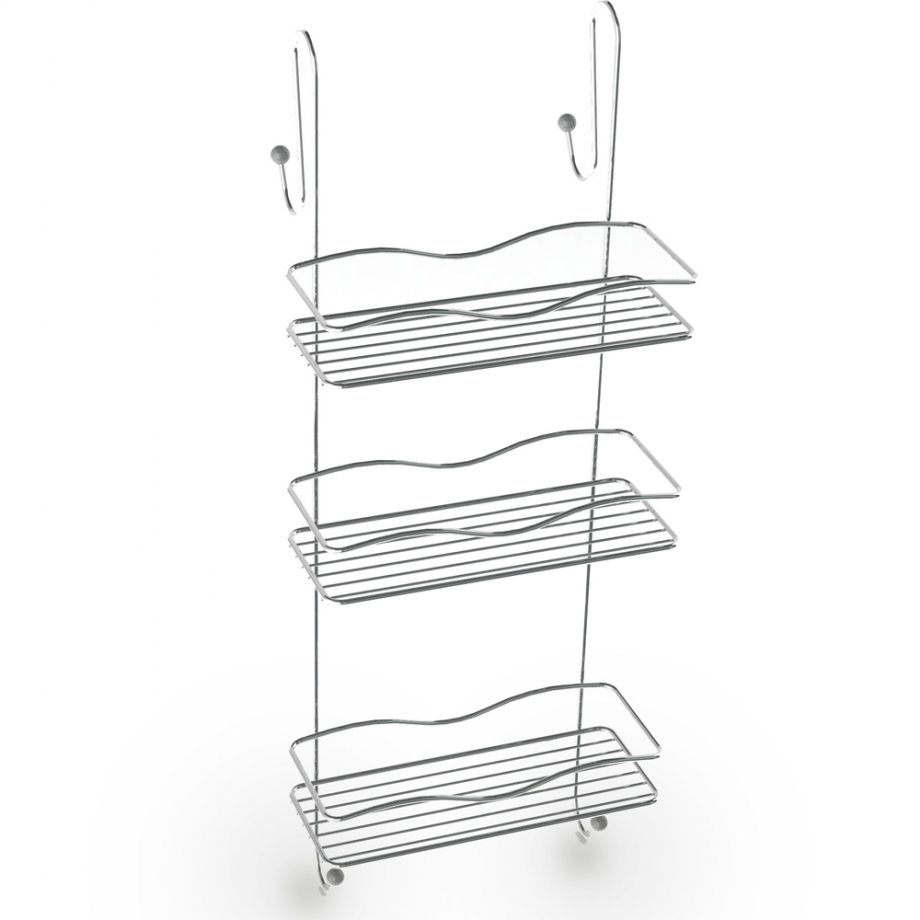 BK063 Cabinet Hanger 3 Tiers 5mm / Chrome