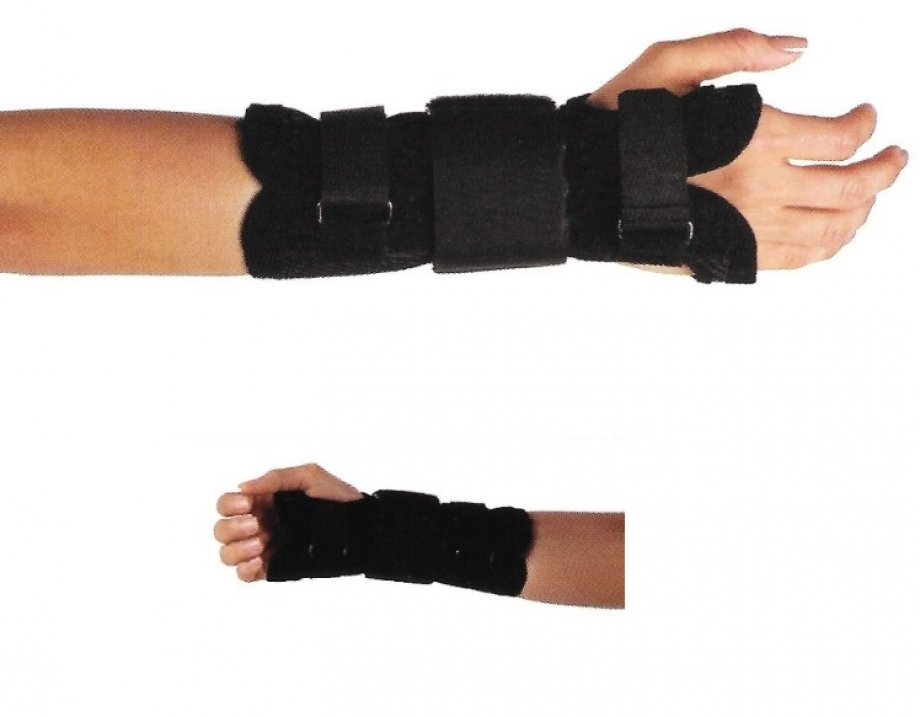 AB - 4224 ADELBRAND Wrist Immobilization Splint   ( made of Mesh Fabric )