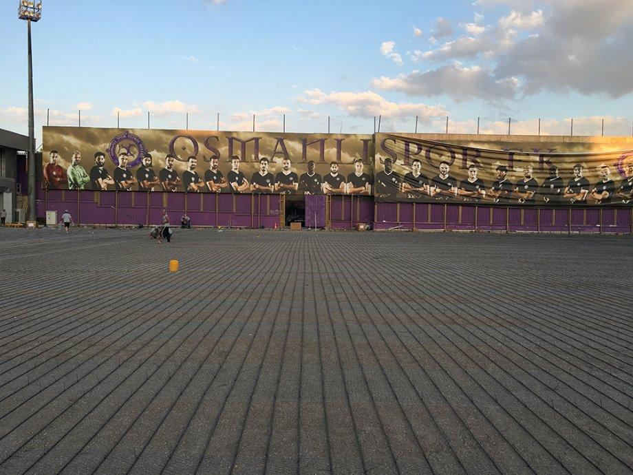 Osmanlı Spor Batıkent Spor Kompleksi Antrenman Sahası