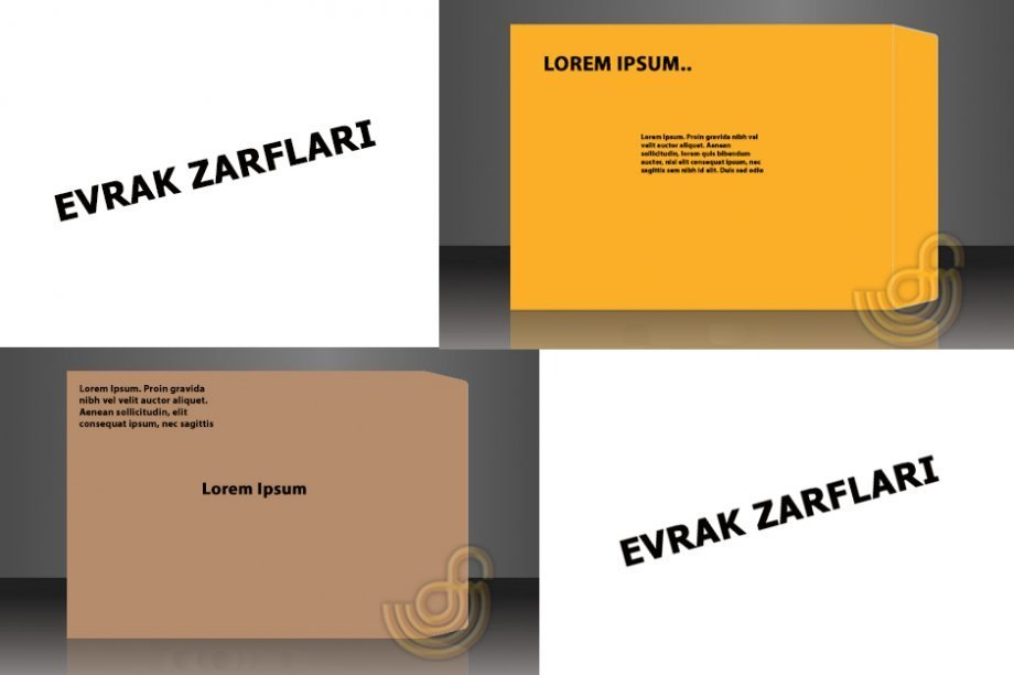 Zarf Baskısı - Özel İmalat Basılı Zarf Çeşitleri