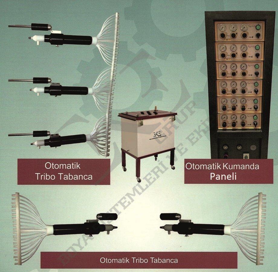Tribo Elektrostatik Toz Boya Tabancası