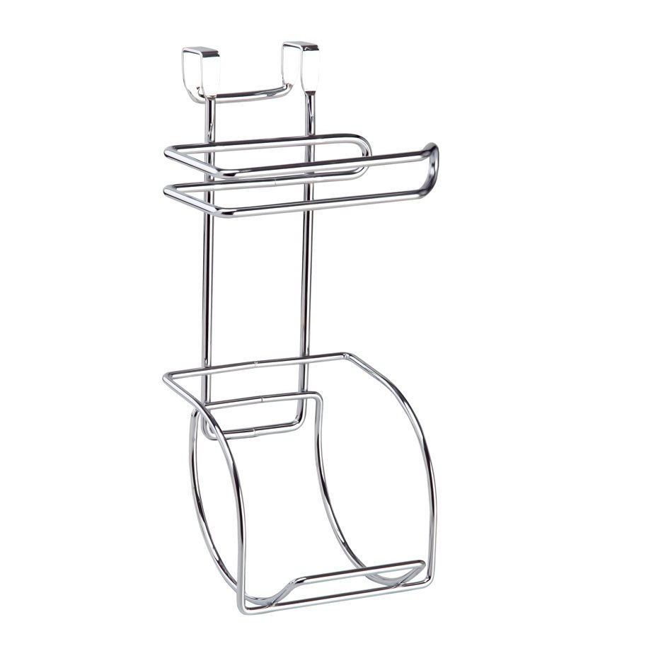 SF282 Space Saver Toilet Paper Holder and Reserve / Chrome