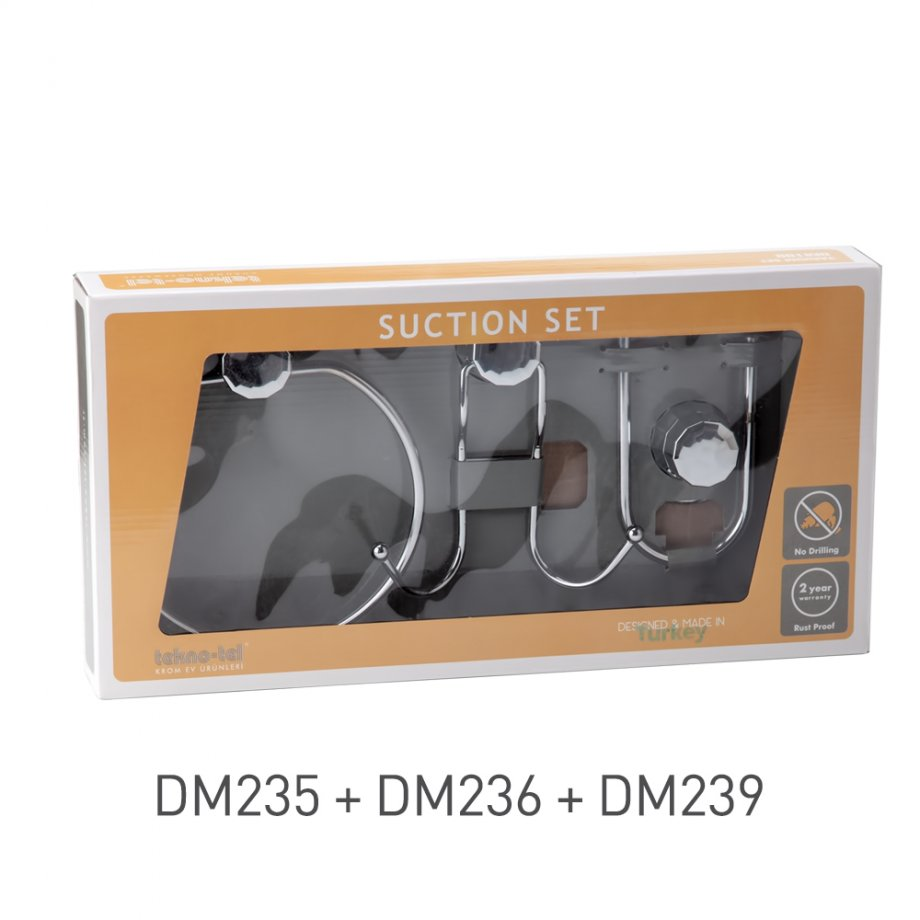 DM100 Suction Set of 3