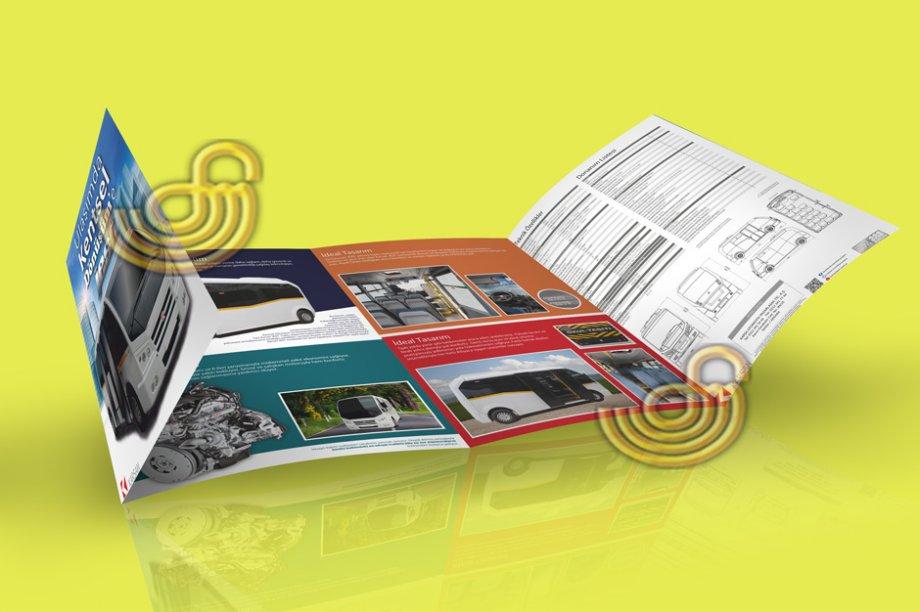 Broşür Baskısı - Katlamalı Broşürler