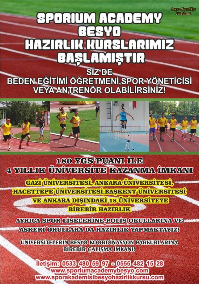 Ankara Çankaya Besyo Hazırlık Kursu