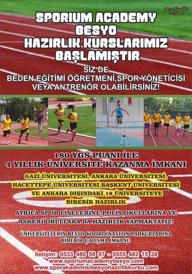 Ankara Akyurt Besyo Hazırlık Kursu