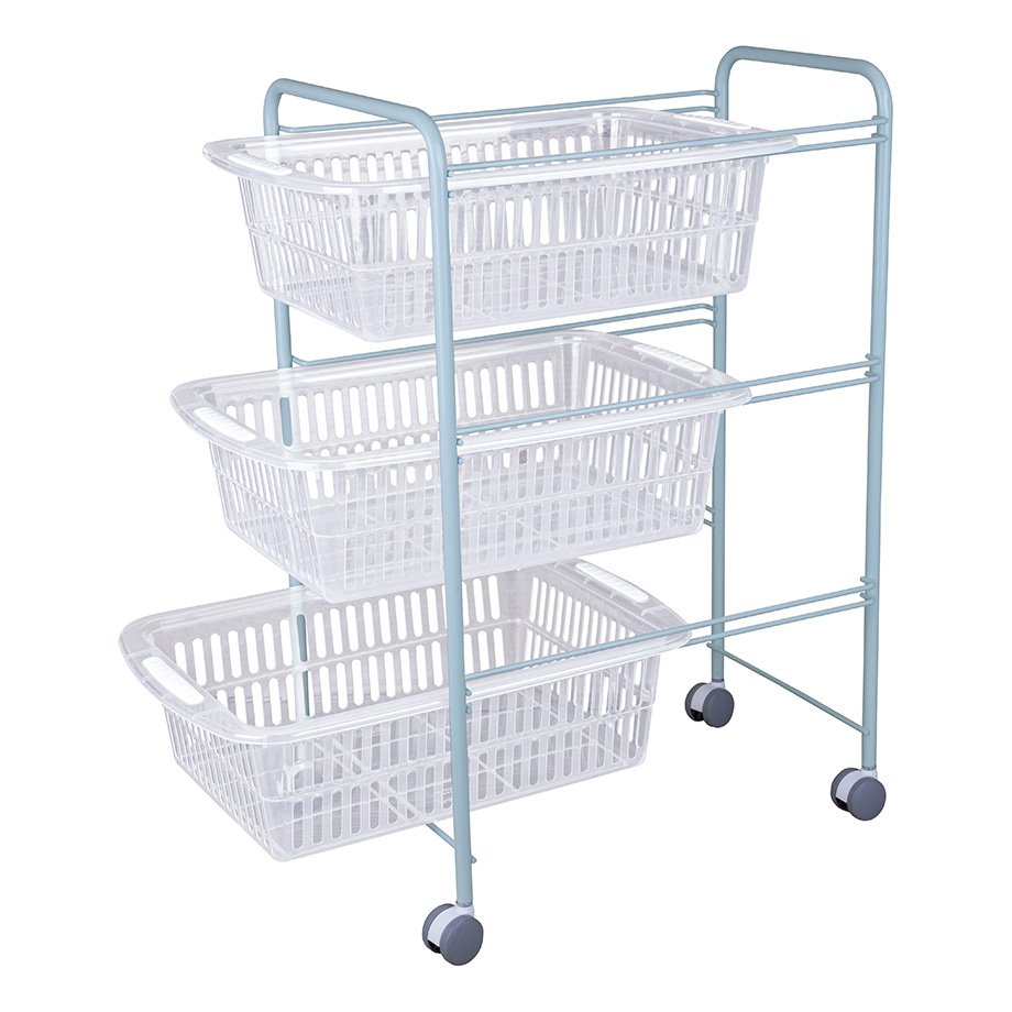 MG009 Basket Three Tiers / Mint Green