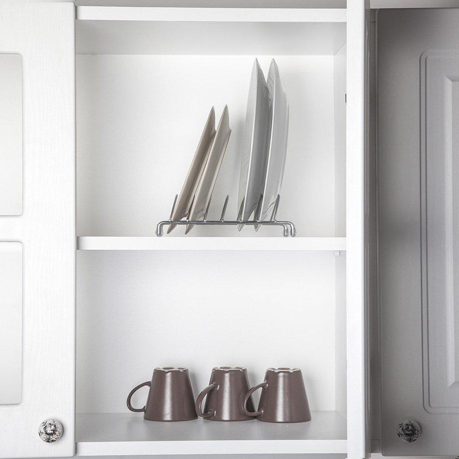 KB090 Plate Organiser Shelf / Chrome