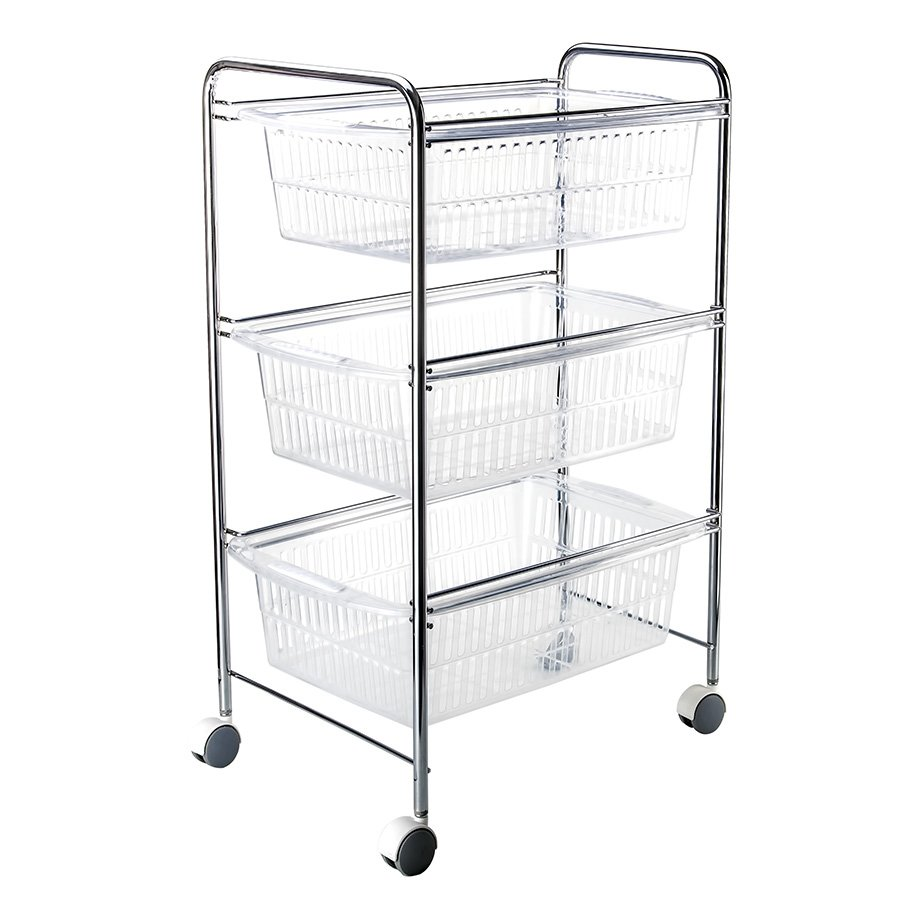 MG009 Basket Three Tiers / Chrome