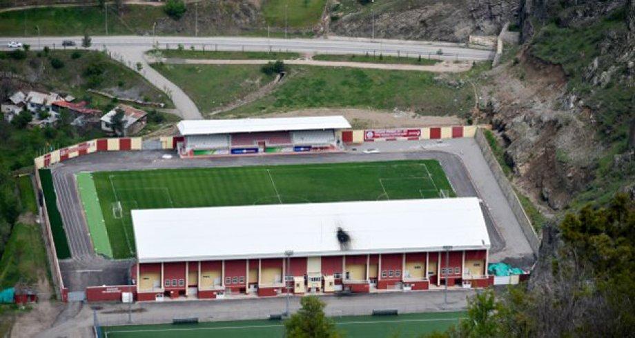 Gümüşhane Yeni Şehir Stadyumu Elektrikli Yerden Isıtma Sistemi