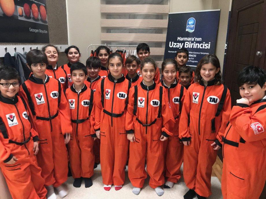 Ali Kuşçu Uzay Evi Ziyareti (2018 Ocak)