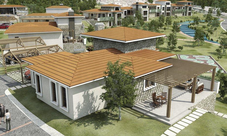 Kekliktepe Villaları 17 adet villa