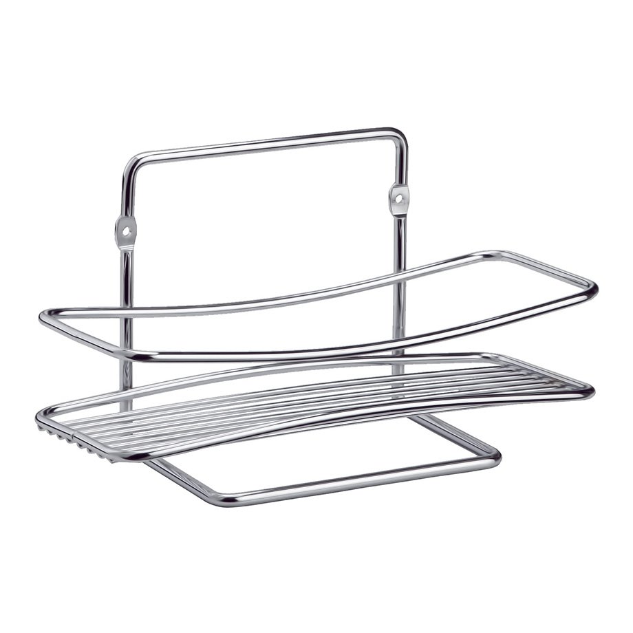 BK004 Bath Shelf 5mm  / Chrome