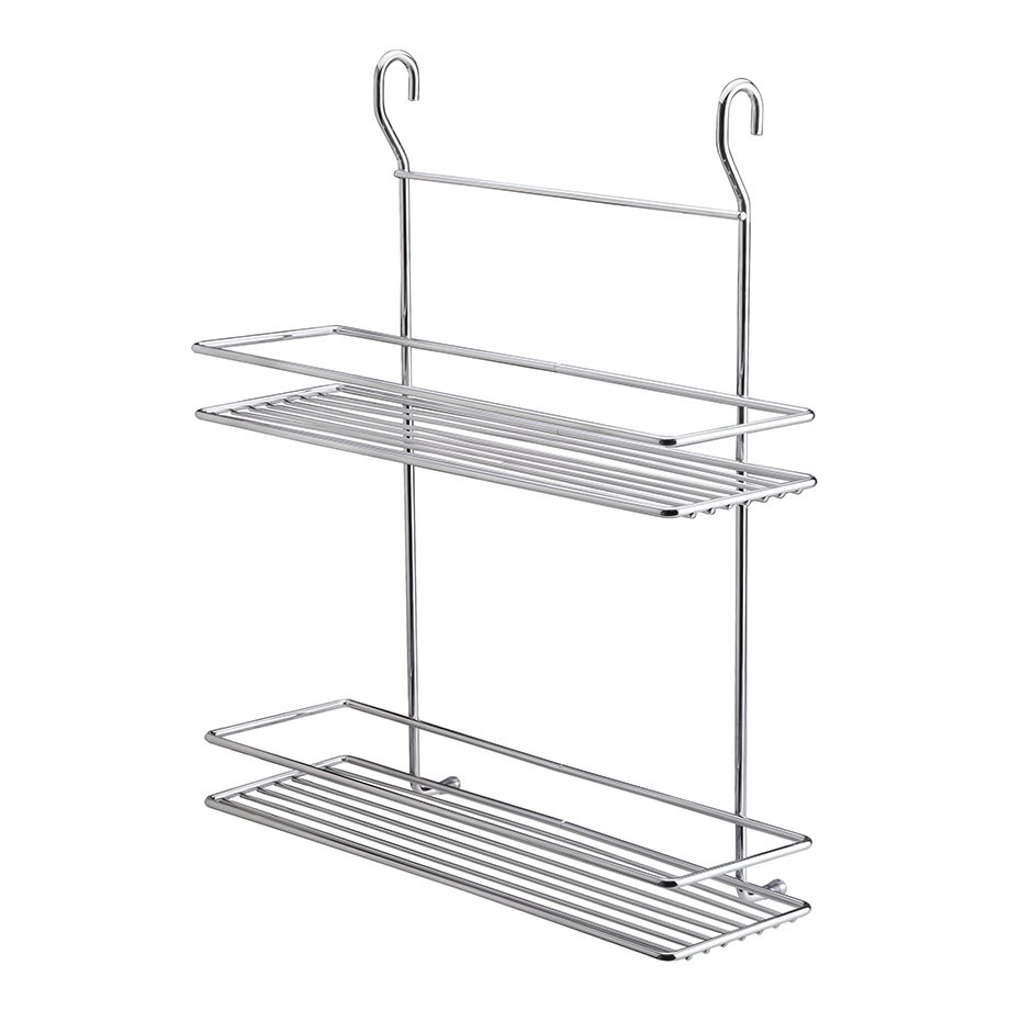 MGES062 Spice Racks Two Tiers/ Chrome