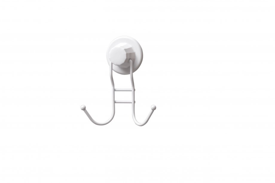 DM236W Suction Items (Towel Hanger 2 Hooks) / White