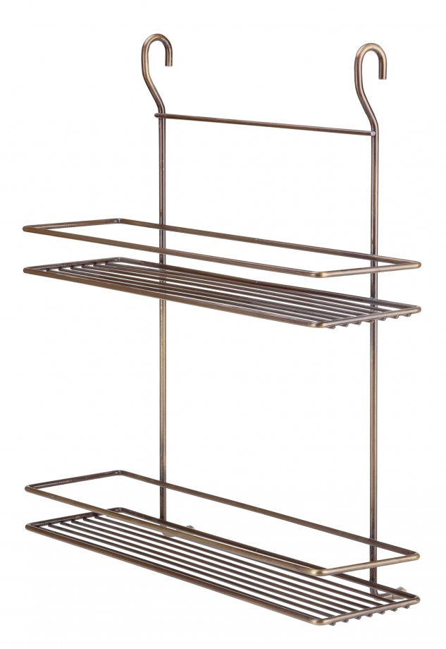 MGES062A Spice Racks Two Tiers / Antique
