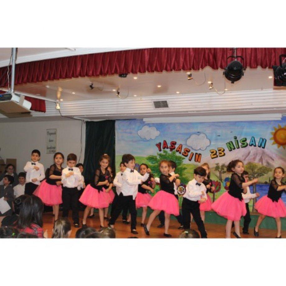 23 Nisan Ulusal Egemenlik ve Çocuk Bayramı Kutlaması.