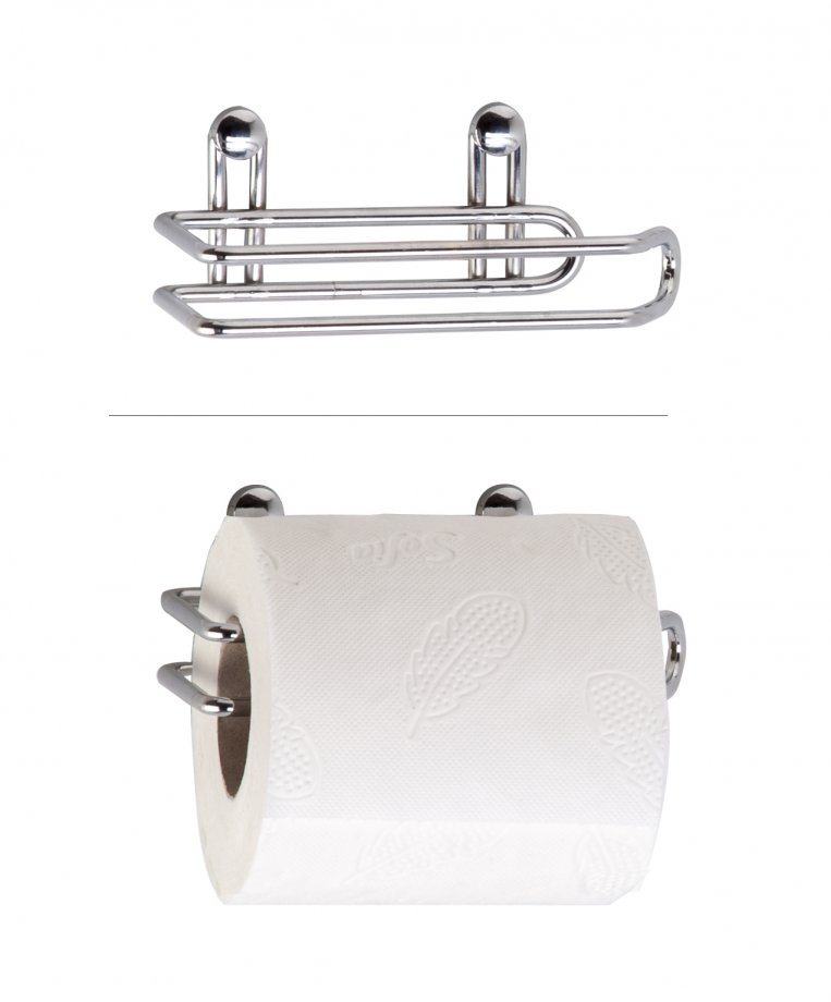 ES017 Toilet Paper Holder / Chrome