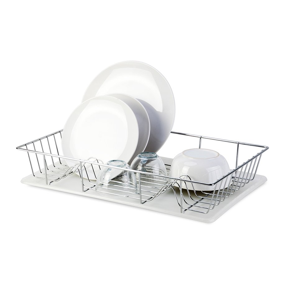 KB001 Dish Drainer Without Cutlery / Chrome