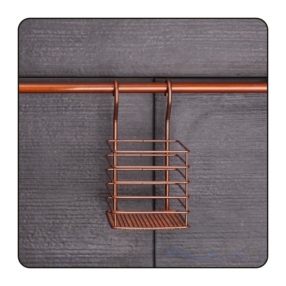 MG073C Space Saver Shelf for Rails / Copper