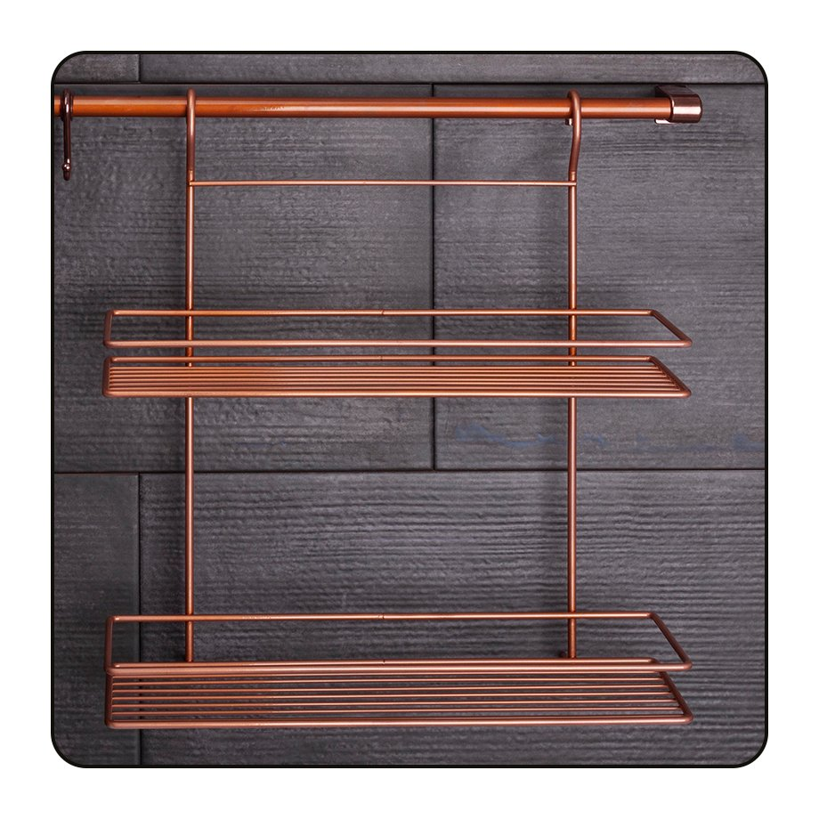 MGES062C Spice Racks Two Tiers/ Copper