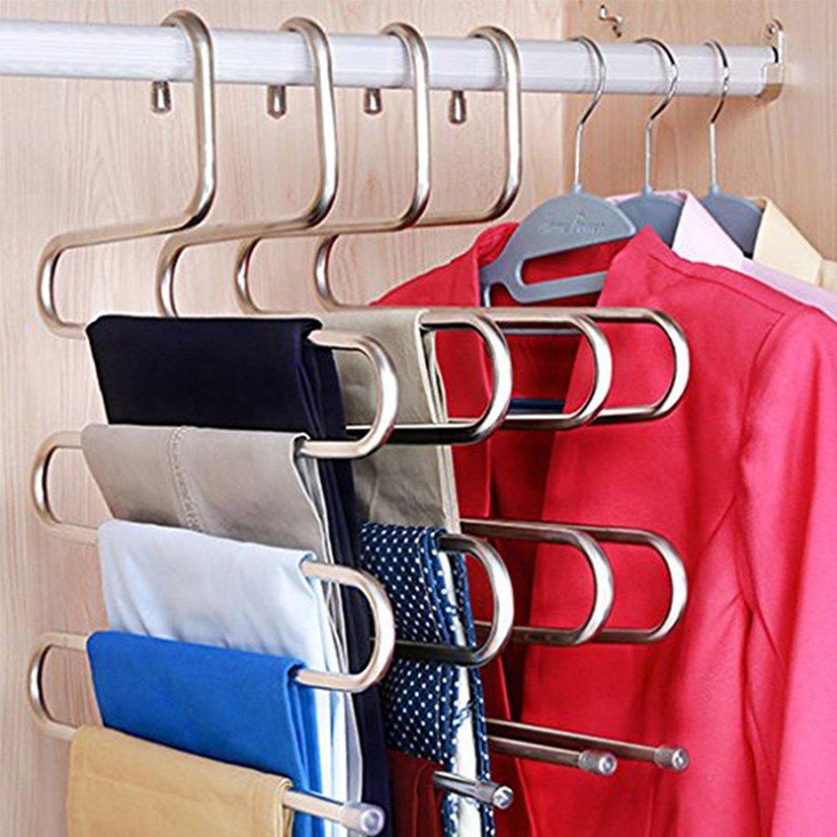 EG202 Pant Hangers / Chrome