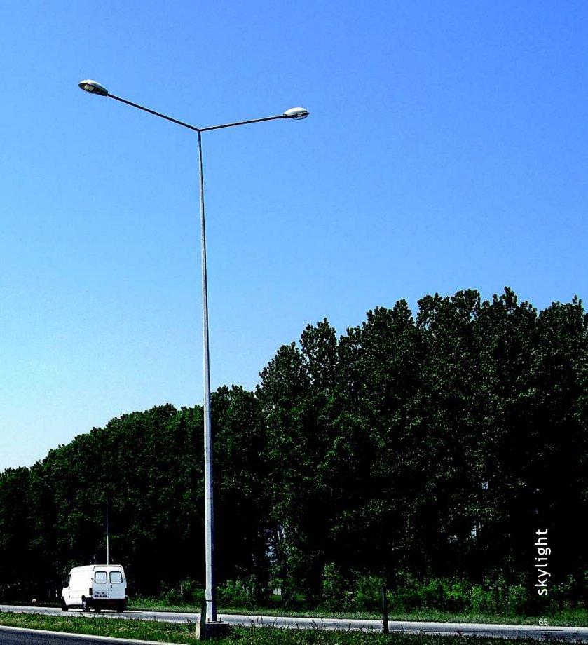 OCTOGONAL POLYGONAL STREET LIGHTING POLES