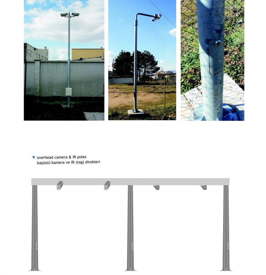 CCTV & DOME CAMERA POLES