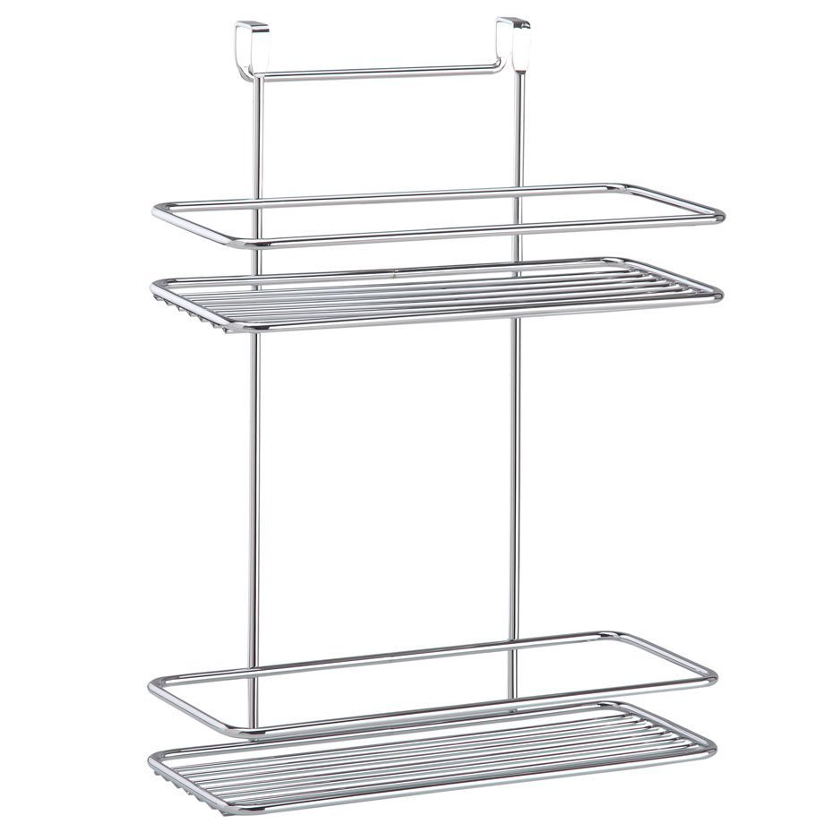 SF005 Over the Cabinet 2 Tier Shelf / Chrome