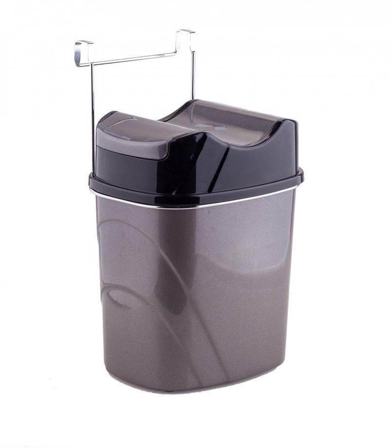 SF007 Asmalı Çöp Kovası  / Krom
