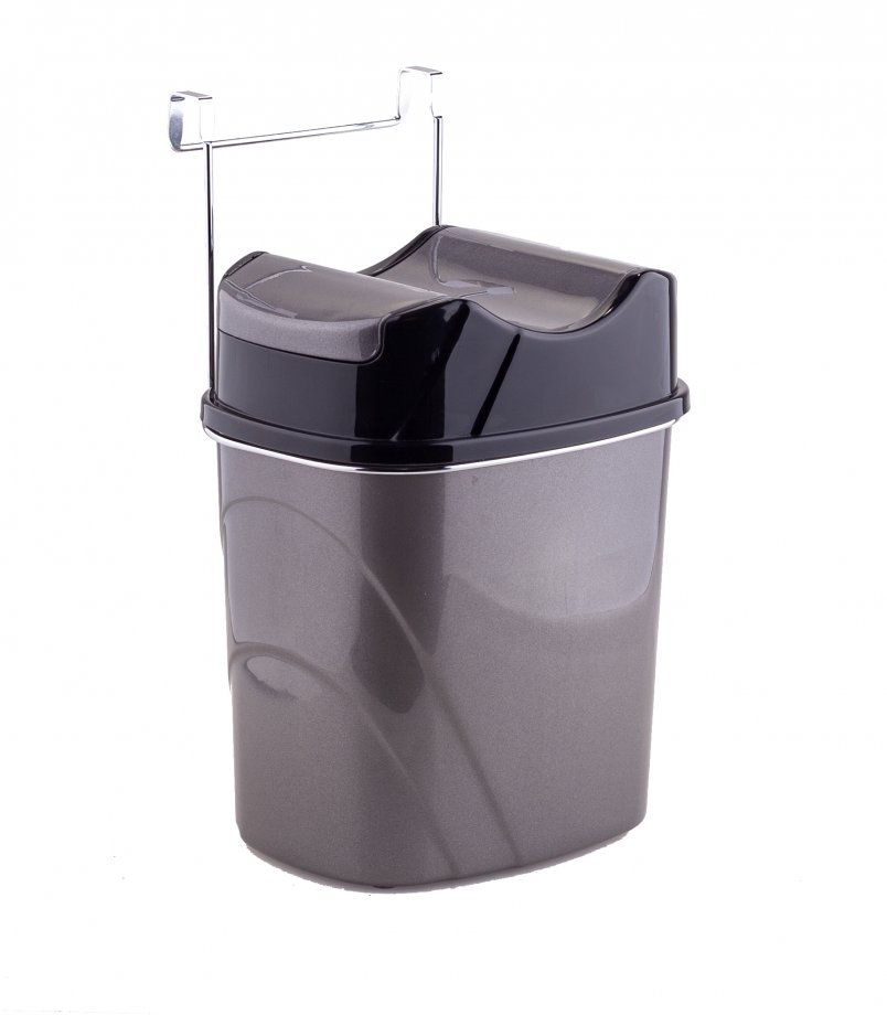 SF007 мусорная корзина / хром