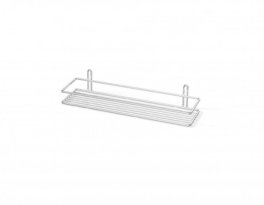 ES061 Bath Shelf 5 mm / Chrome