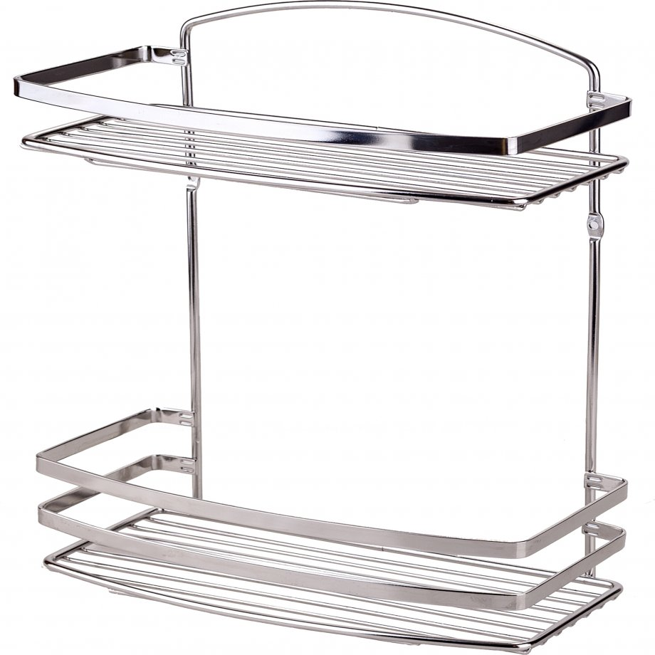 BK085SS Bath Shelf Sheet Bar 2 Tiers / INOX