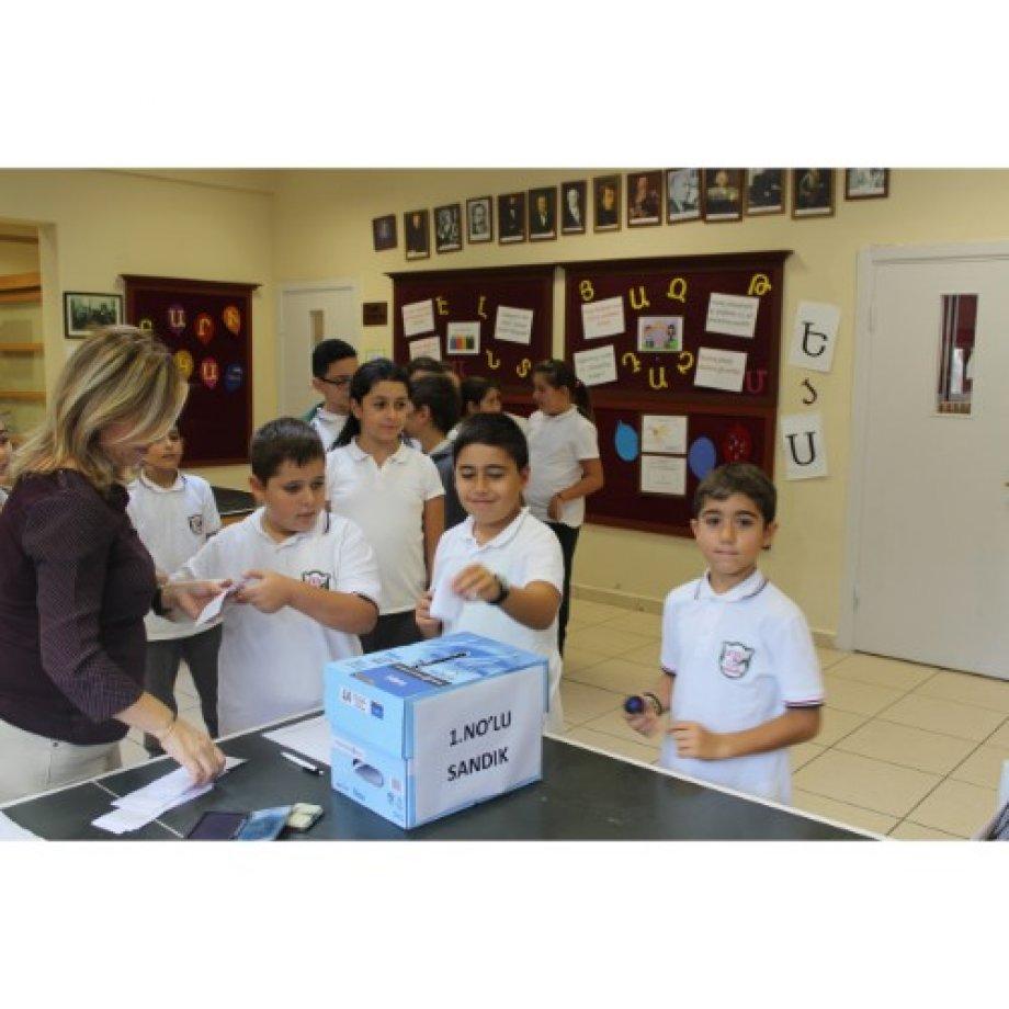 Okul Meclis Başkanı Seçimimiz
