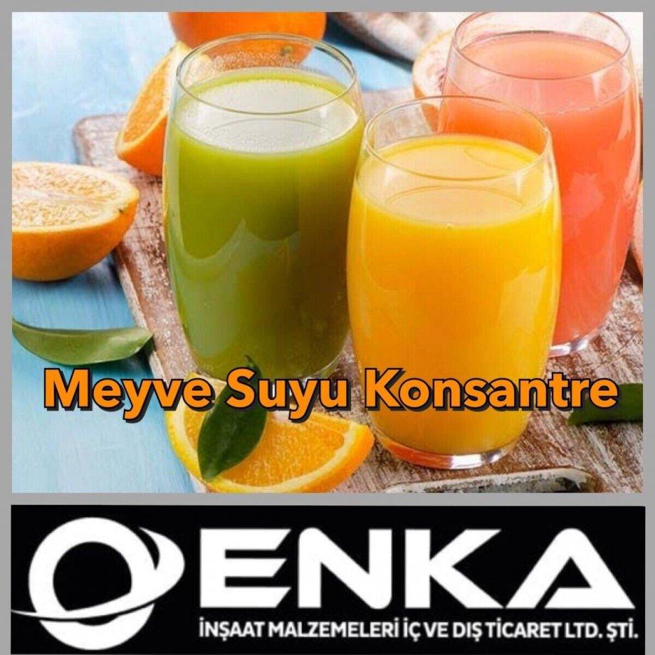 Meyve Suyu Konsantre