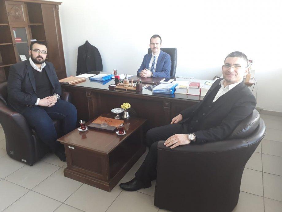 Muhterem dostum Sulh Ceza Hakimlerinden Muhammed İkbal Çelik Hocamla Aksaray üzerine hasbihal ettik