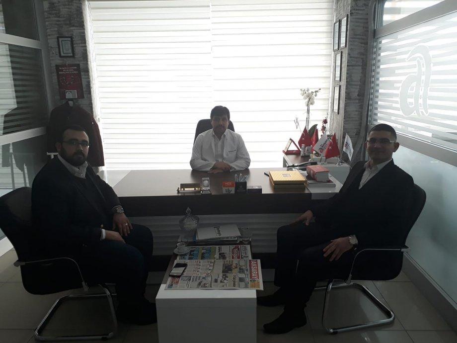 Dt.Serkan Şimşek Hocama, Y.Refah P. İl Başkanlığı Görevini Üstlenmesi Dolayısıyla Hayırlı Olsun Dedik.