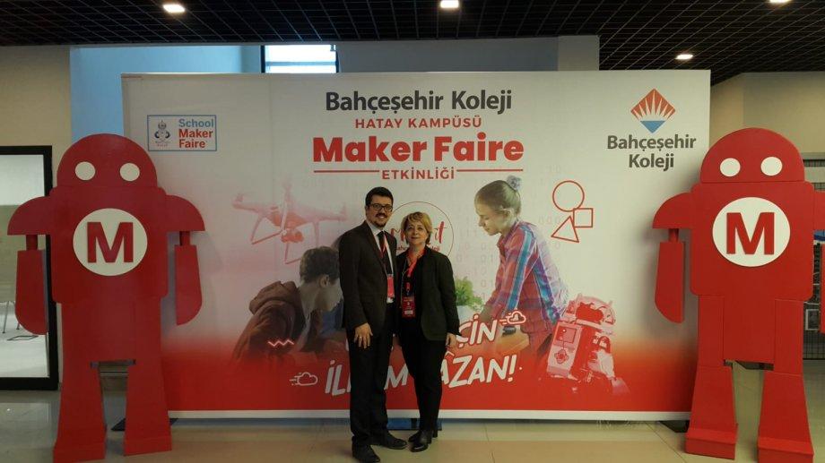 Okulumuz Bahçeşehir Koleji Hatay Kampüsü Maker Faire Etkinliğine katıldı