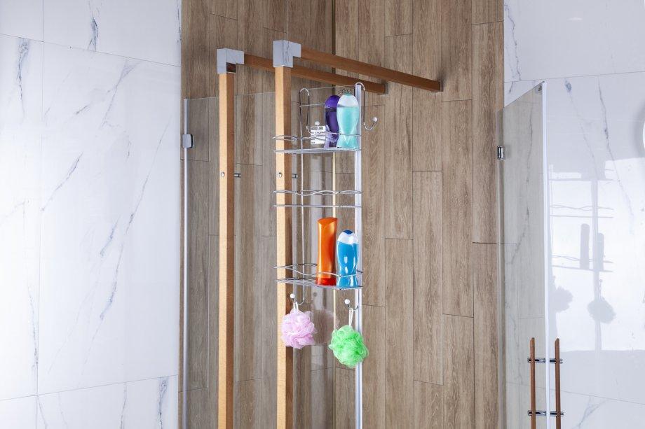 BK063 Cabinet Hanger 3 Tiers 5mm / Chrome